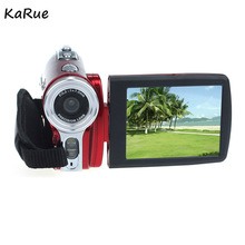 KaRue HDV-109 Digital Camera 3 Inch TFT LCD 720P HD 20MP Digital Video Camcorder 16x Digital Zoom DV Camera 5MP CMOS