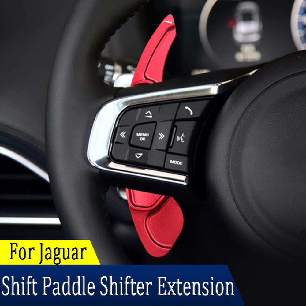 For Jaguar XF XE XJ F-PACE F-TYPE X760 X260 X761 Car Steering Wheel Paddle Shift Extension Shifters Accessories Speed Up Shift