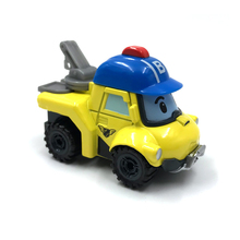 Robocar Poli 23 Style Kids Toy Anime Action Figures Anba Car Metal Model Roy Fire Truck Toys For Children Christmas Gifts