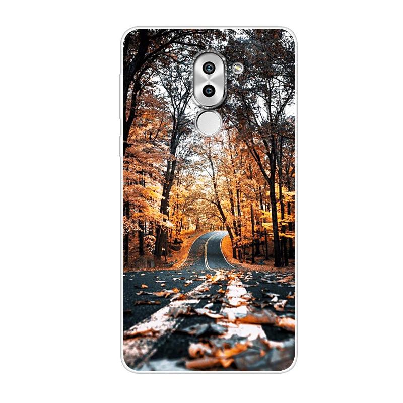 For Huawei Honor 6X Case Honor 6 X Silicone փափուկ հետևի - Բջջային հեռախոսի պարագաներ և պահեստամասեր - Լուսանկար 4