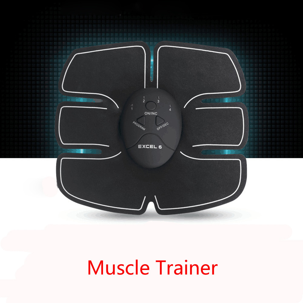 Muscle Trainer Remote Control Abdominal Muscle Trainer Smart Body Building Fitness Muscle Trainer dropshipping 18jun7