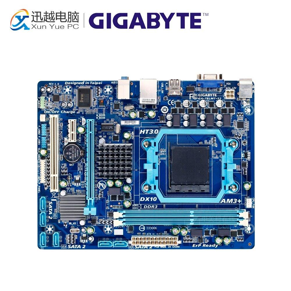 все цены на Gigabyte GA-78LMT-S2 Desktop Motherboard 78LMT-S2 760G Socket AM3 DDR3 SATA2 USB2.0 Micro ATX