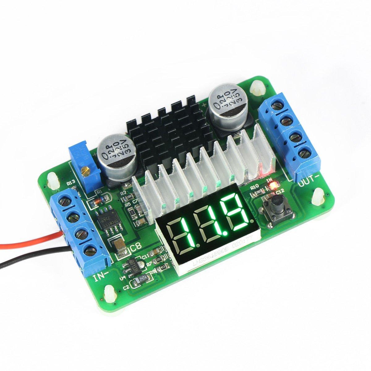3.5V-30V DC Boost Converter Power Transformer Voltage 5V/12V Step Up Volt Module Power Supply Board for Car Auto Motorcycle