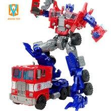 Большой Размер Пластиковых Трансформатор Робот Игрушки 9 стили Классический Робот Автомобиль Игрушки Фигурки игрушки для Мальчиков Подарок
