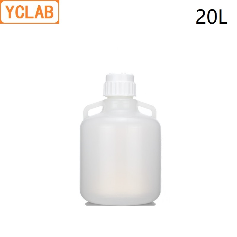 YCLAB 20L PP Plastic Bucket Liquid Storage Barrel Can be Sterilized at 121 Degrees and High Pressure ( Lid Needs to be Opened )YCLAB 20L PP Plastic Bucket Liquid Storage Barrel Can be Sterilized at 121 Degrees and High Pressure ( Lid Needs to be Opened )