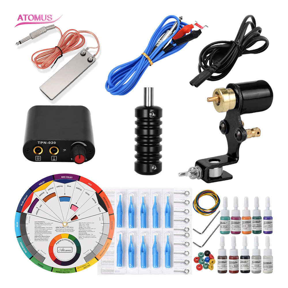 Tattoo Machine Tatuagens Professional Rotary Insumos Para Tatuajes Tattos Makeup Pro Set Tattoo Kit De Tatuaje Kits Rotary KitsTattoo Machine Tatuagens Professional Rotary Insumos Para Tatuajes Tattos Makeup Pro Set Tattoo Kit De Tatuaje Kits Rotary Kits