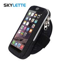 Для мобильного телефона, наручный мешок прозрачная сенсорная пленка Водонепроницаемая дышащая Беговая нарукавная Повязка для езды на велосипеде для 4 «-6» iPhone samsung Redmi; Huawei