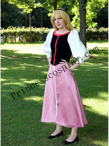 Free shipping Hot! Eilonwy Cosplay Costume Dress from the Black Cauldron