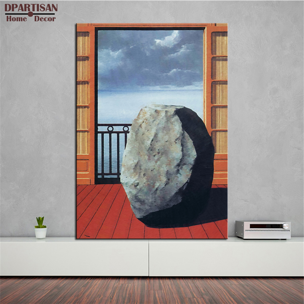 DPARTISAN invisible world 1954 by rene magritte artist morden arts ...