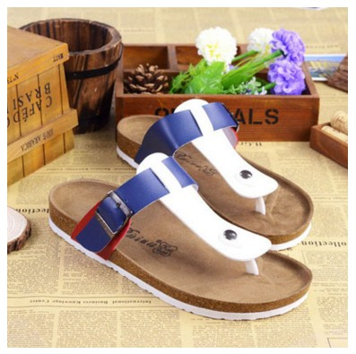 74e19ecd54a Men Summer Fashion Slippers 2017 New Men Beach Fashion Color Softwood  Sandals Free Shipping