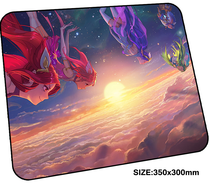 jinx mousepad gamer 350x300x3mm gaming mouse pad Customized notebook pc accessories laptop padmouse Personality ergonomic mat ...