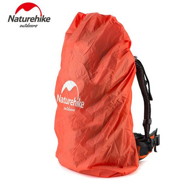 NatureHike Bag Cover 20~30L Waterproof Rain For Backpack Camping Hiking Cycling School Luggage Bags Dust Covers