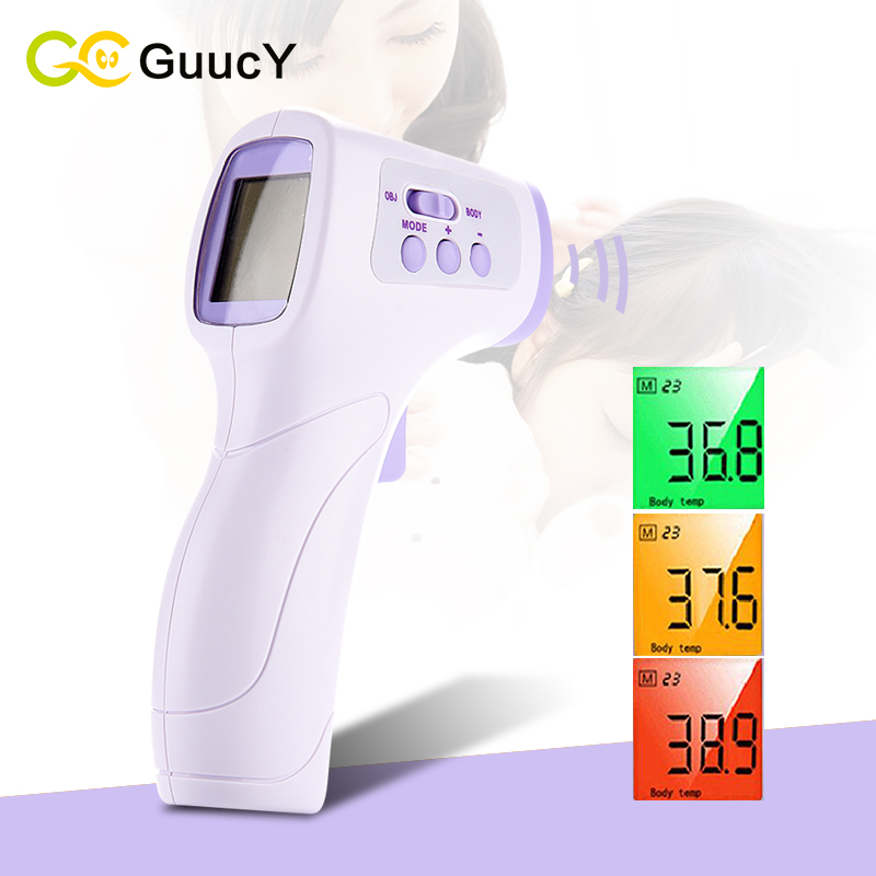 baby care Electronic decorative Non-contact Baby/Adult Digital Thermometers Infrared thermometer Children's forehead thermometer