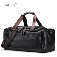 BAILLR Brand Vintage Handbags Men S Casual Tote For Men Large Capacity Portable Shoulder Bags Men
