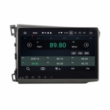 Android 8.0 Octa Core 10.1″ Car Radio DVD GPS for Honda Civic 2012 2013-2015 With 4GB RAM Bluetooth 32GB ROM USB Mirror-link
