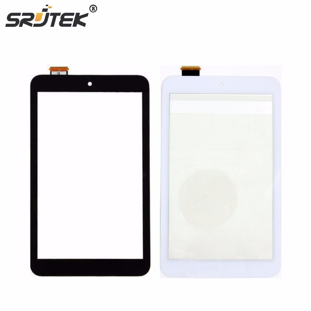 Srjtek 8 For Asus MeMO Pad 8 ME180 ME180A K00L Black Touch Screen Panel Digitizer Glass Lens Sensor Repair Parts Replacement asus touch screen digitizer glass lens panel replacement parts for asus memo pad smart 10 me301t tablet touch panel