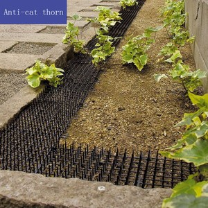 Image 5 - Garden Cat Dog Scat Mat Cats And Dogs Repellent Mat Plastic Spike Keeping Cats Dogs From Digging Flower Plant Protective Fence