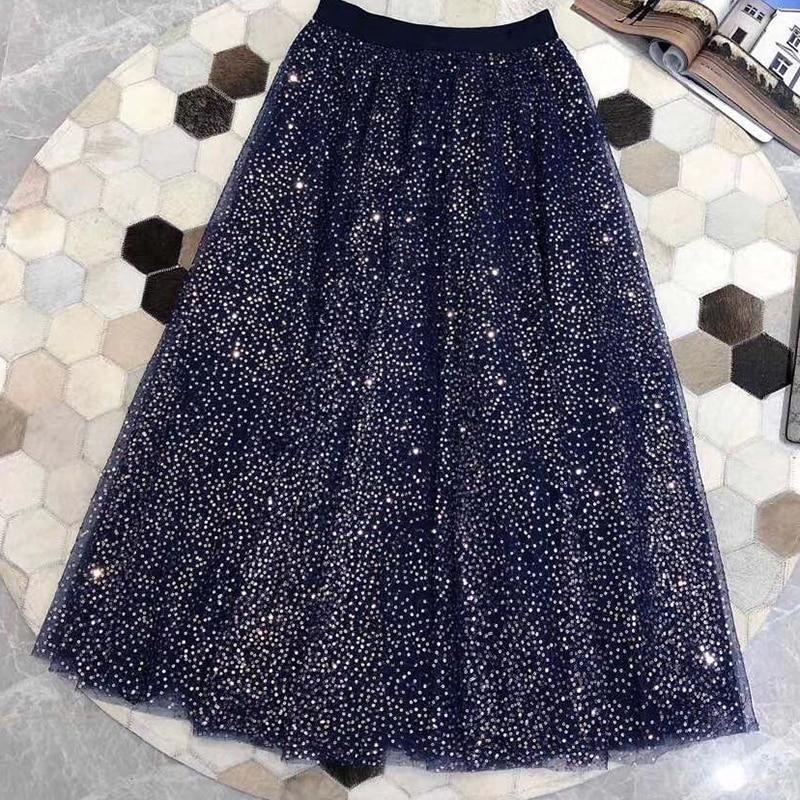 Empire Femelle A Femmes Jupe Faldas Noir De Vintage Jupes Décontracté Ligne Pour 2019 Mode Élégante Floral wq8SnPU6