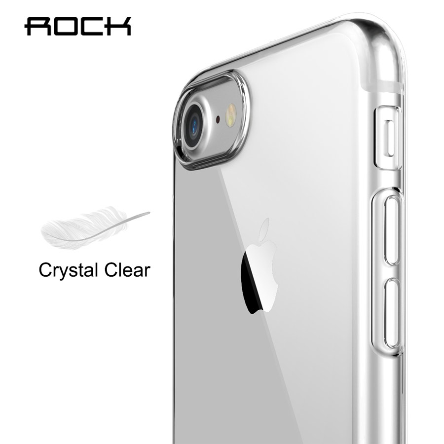Rock para apple iPhone 7/7 plus TPU crystal Funda de silicona Funda - Accesorios y repuestos para celulares - foto 6