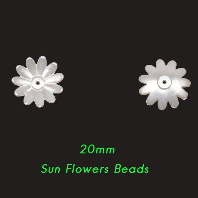 Новинка 50/100 шт бежевые abs полимерные полукруглые цветок
