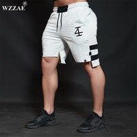 WZZAE 2017 NEW Summer Mens Shorts Sporgyms Casual Short Brand Clothing Boys Shorts Men Jogger Trousers