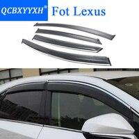 QCBXYYXH Car Styling Awnings Shelters Window Visors Rain Eyebrow For Lexus RX 270 350 NX 200t
