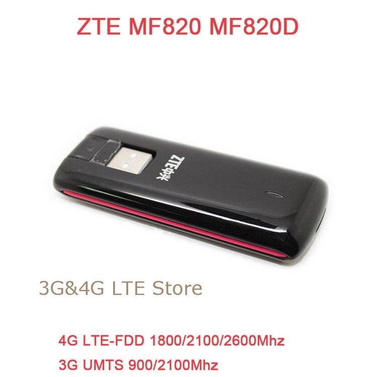 unlocked zte mf820 mf820d 4g lte usb modem 4g 3g usb stick. Black Bedroom Furniture Sets. Home Design Ideas