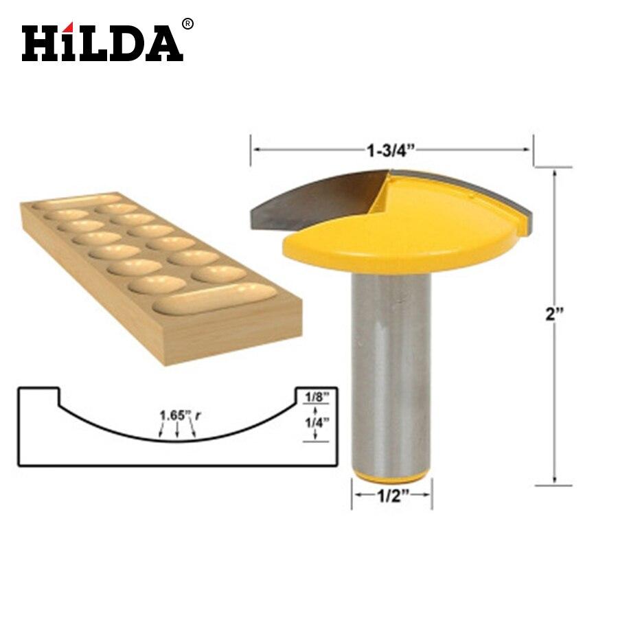 HILDA 1PCS Concave Radius Milling Cutter 1/2