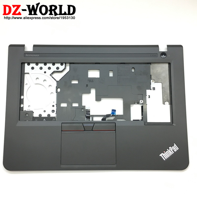 New Original for <font><b>Lenovo</b></font> <font><b>ThinkPad</b></font> <font><b>E450</b></font> <font><b>Keyboard</b></font> Bezel Palmrest Cover with Touchpad/Card Reader/Switch/Connecting Cable 00HT609 image