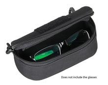 Безкоштовна доставка Нові окуляри для догляду Molle System Pouch 1000D Нейлонова тканина Чорні кольори Мала сумка PP6-0100
