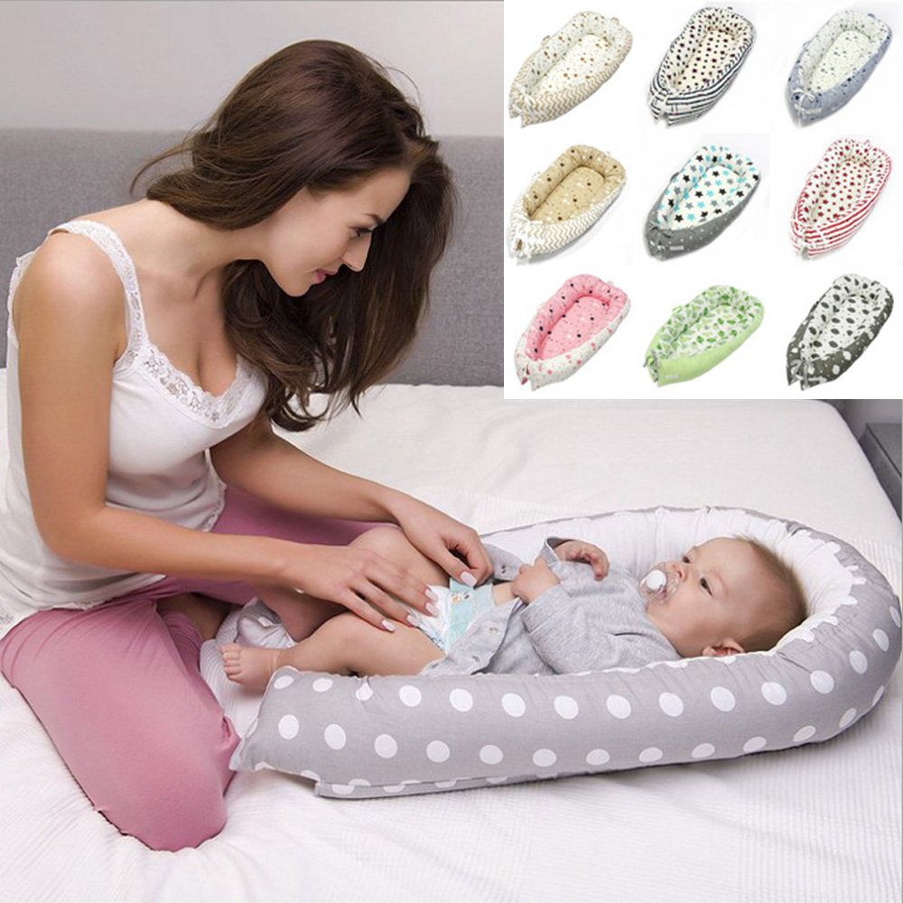 Baby Nest Bed Crib Portable Baby Bed Removable Washable Baby Crib Travel Bed Children Portable Crib Cot Nest Kids Cotton CradleBaby Nest Bed Crib Portable Baby Bed Removable Washable Baby Crib Travel Bed Children Portable Crib Cot Nest Kids Cotton Cradle