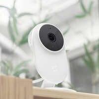 Original Xiaomi mi jia 1080P cámara IP 130 grados FOV visión nocturna Cámara inteligente de seguridad 2,4 Ghz de doble banda para Kit de casa mi hogar