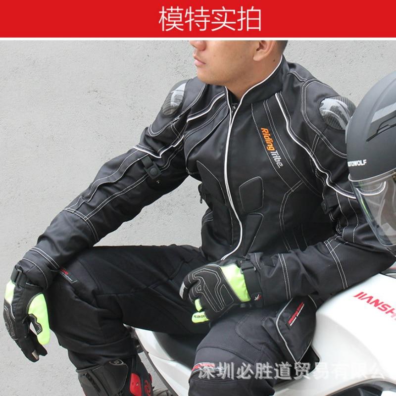 Compete a Motocicleta Homens Que Equitação Jaqueta Pcs