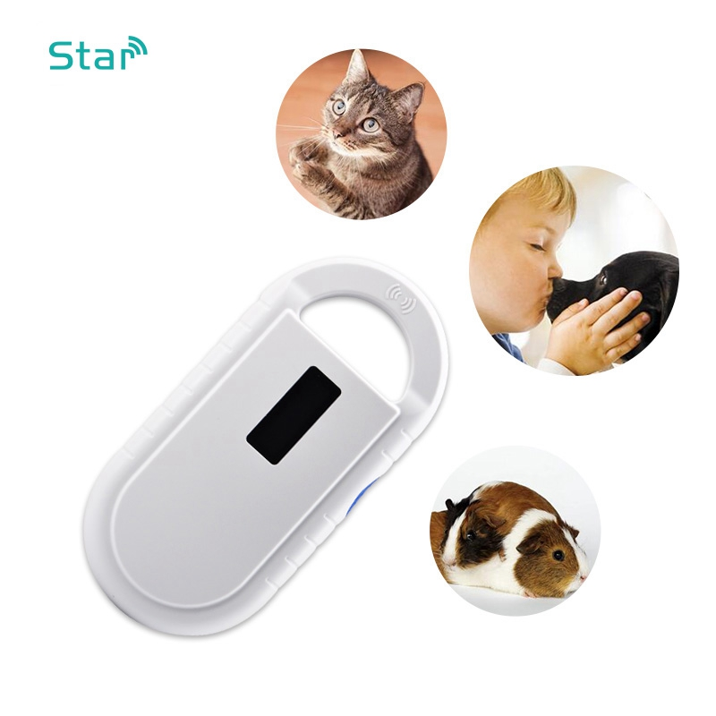 134.2khz Handheld Rfid Animal Scanner Microchip Portable Chip Tag Reader Free Shipping Cheap ST08 For Dog Pig Sheep Turtle
