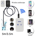 WiFi For iOS Android Endoscope 720P 2.0MP 9mm 5M Tube Inspection Camera