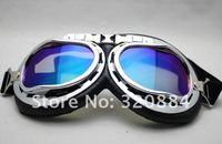 в наличии новый новый авиатор пилот крейсер motocycle мопедов на ATV выпученными очки t01a серебро