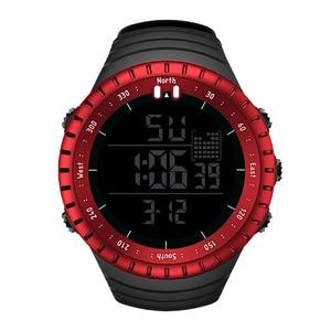 Image 5 - SENORS Sport Watch mężczyźni Outdoor cyfrowe zegarki LED elektroniczny zegarek na rękę wojskowy Alarm męski zegar cyfrowy