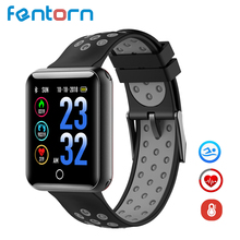 Fentorn Q18 Smart Watch Blood Pressure IP68 Waterproof Fitness Tracker Clock Smartwatch Men For IOS Android Wearable Devices