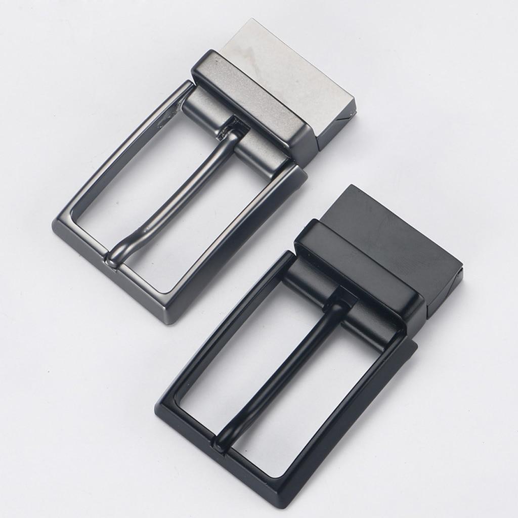 Men's Reversible Alloy   Belt   Buckle Single Prong Rectangular Pin   Belt   Buckle