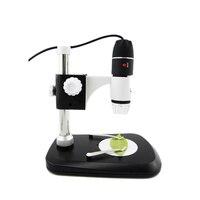 HD 800X Portable USB Digital Microscope 8 LED 2MP Black Practic Electronic Microscope Endoscope Magnifier Camera