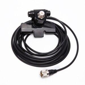 Image 2 - Soporte de Clip para coche de RB 400, antena para coche con borde de Clip para tapa de maletero, soporte de montaje para Radio de coche para vehículo móvil + Cable de 5m