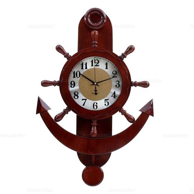 Aliexpresscom Buy New Arrival Clock Large Anchor Rudder