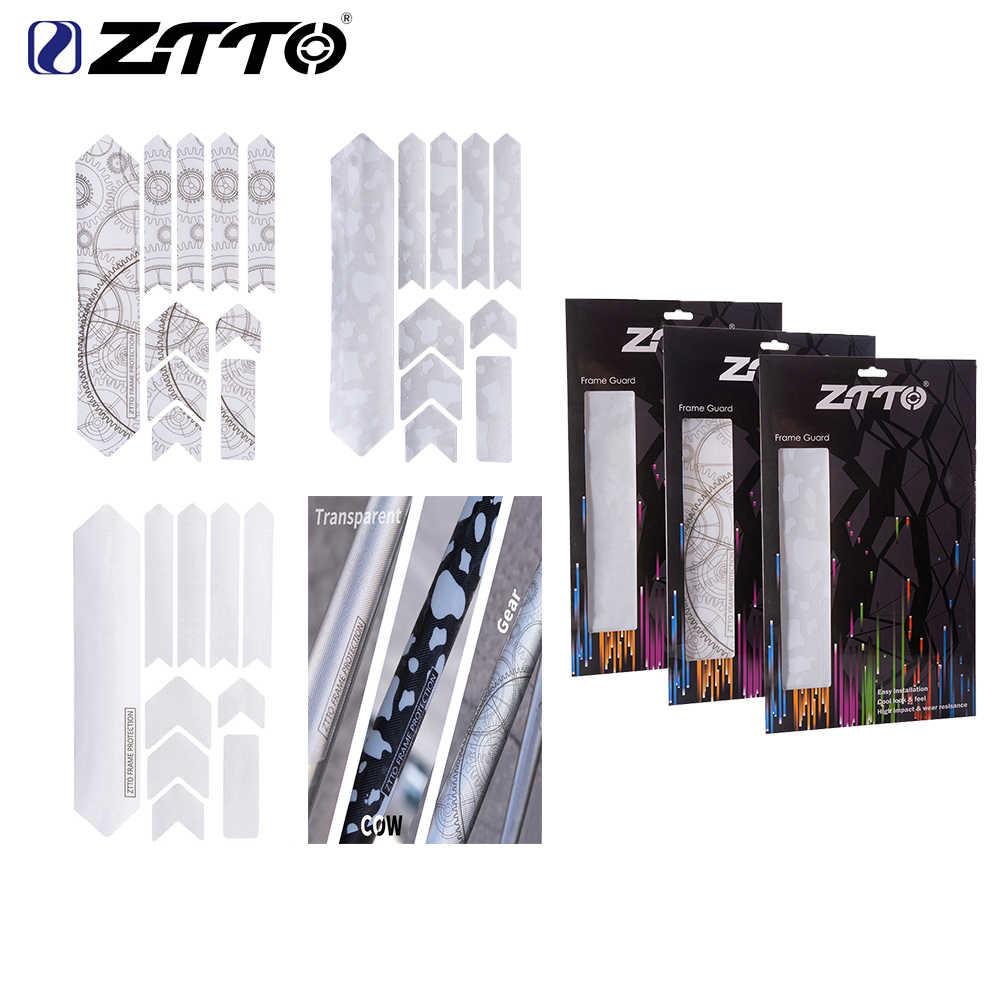 ZTTO MTB Road Bike Protector Stickers 3D Scratch-Resistant Sticker Frame Cover
