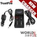 Trustfire tr-006 multifuncional cargador de batería para 18650 26650 26670 batería recargable + cargador de coche