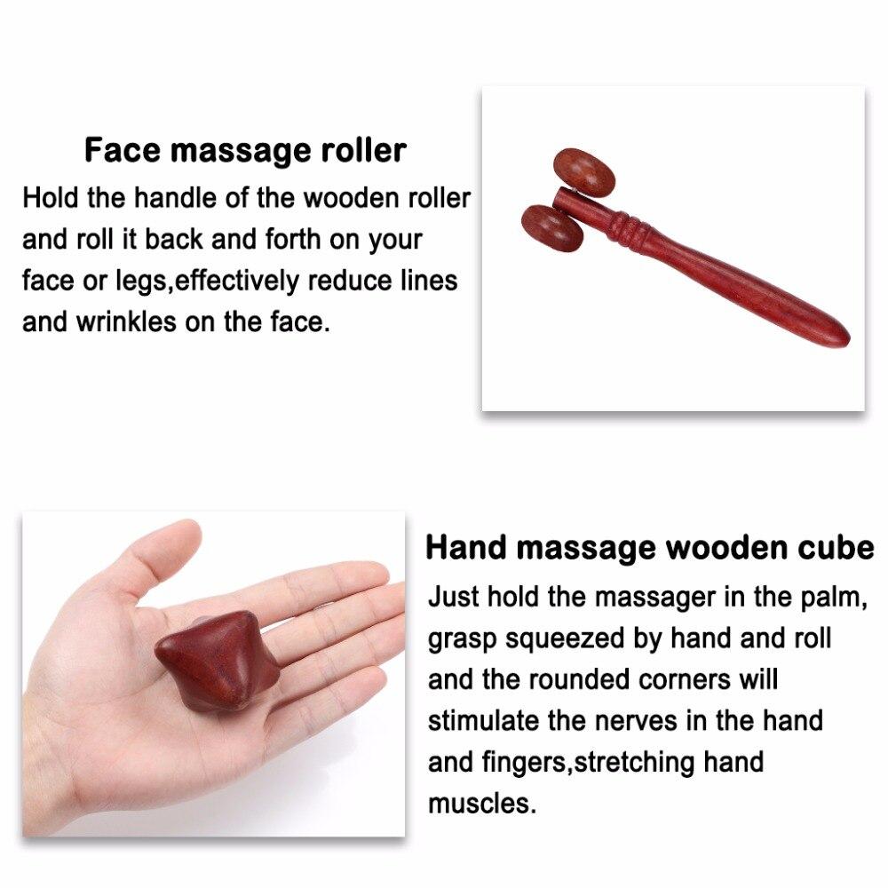 Reflexzonenmassage, um die Hände zu verlieren