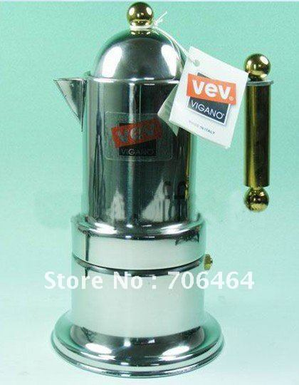 4 cups High quality Moka coffee maker,Espresso coffee pot stainless steel moka coffee machine
