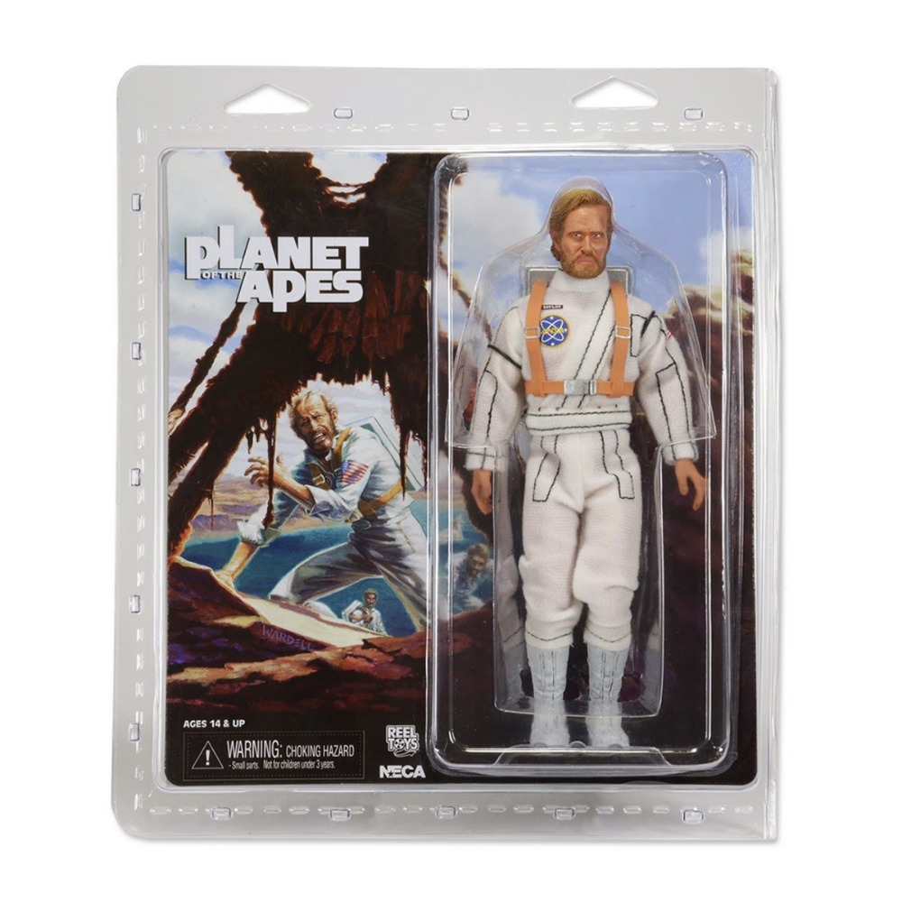 Neca Planet of The Apes George Taylor 8 Action Figure george crowder theories of multiculturalism