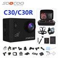 Câmera ação deportiva originais soocoo c30/c30r remoto hd 4 k WiFi 1080 P 60fps 2.0 LCD 170D esporte ir pro câmera à prova d' água