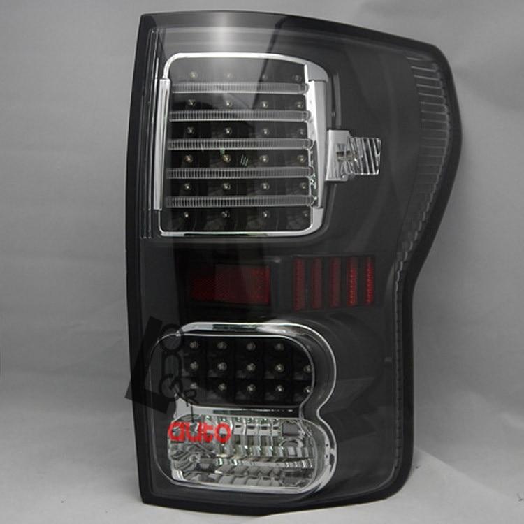 СИД курил черные задние фонари для Тойота Тундра 2007-2013