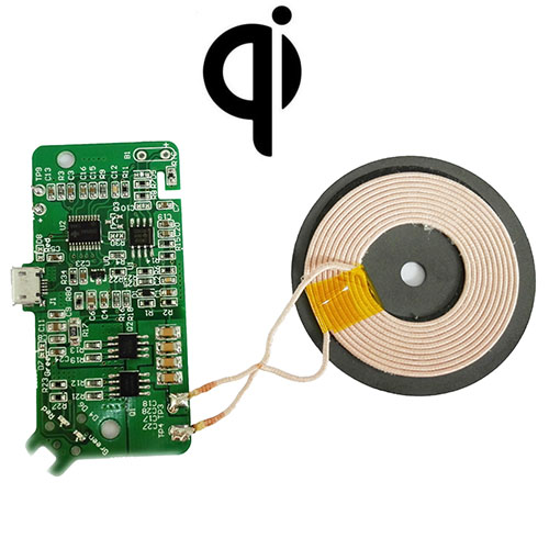 Mobile Phone Wireless Charger Transmitter Module PCBA IDT General Circuit Board Scheme Qi Standard DIY Modification mc 02a universal qi standard wireless phone charger white